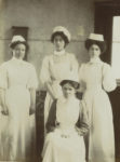 Nurses in uniform, 1890s