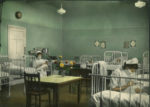Infant's ward at Royal Alexandra Hospital, 1940s
