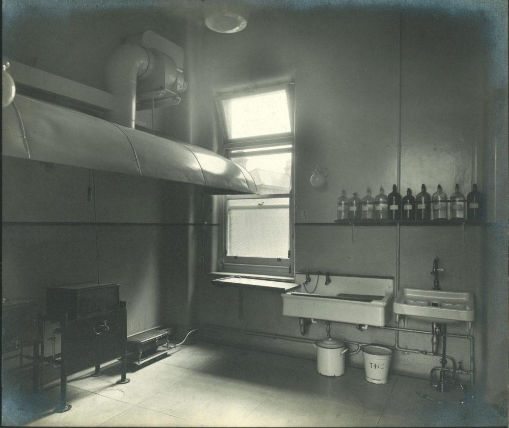 Utility room, c. 1910