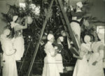 Christmas at the hospital, 1920s