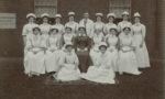 Hospital staff, c. 1900